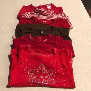 Other - Winter / Christmas long sleeve shirts bundle